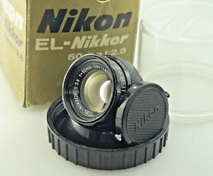 Nikon EL-NIKKOR 50mm 2.8, Enlarging, enlarger Lens L39, Darkroom 35mm.