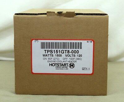 Hotstart Block Heater Tps151gt8-000 1500 W 120 V 80-100 F