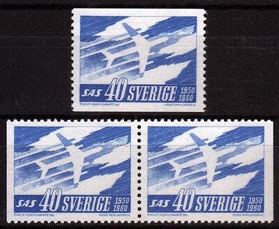 Schweden 467 **, Tag des Nordens mit Paar Kpl.