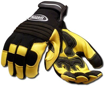 Ansell 97977l Projex Heavy Duty Leather Work Gloves Large