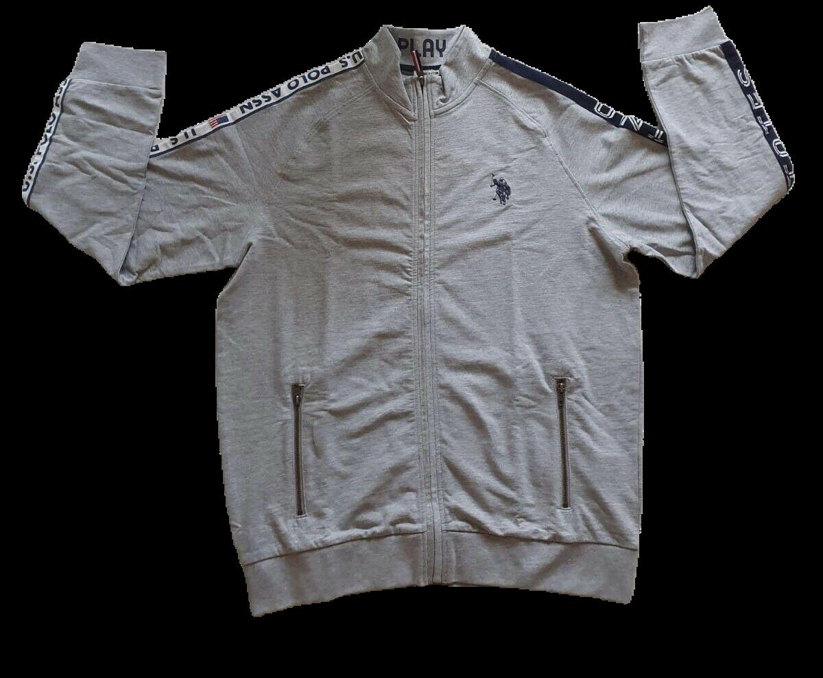 """US Polo Assn.  Sweatjacke """"Grau""""  Größe: XXL"""