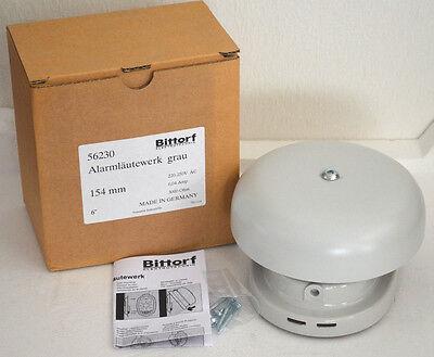 Bittorf 56230 Alarmläutewerk, Metallglocke grau, 220-250V AC HUPE NEU OVP