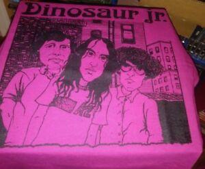 Rare DINOSAUR JR T SHIRT sonic youth meat puppets velvet underground NY dolls