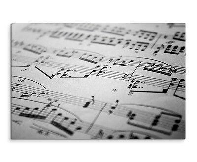 en Musik Wandbild auf Leinwand in verschiedenen Größen (Papier Mit Rahmen)