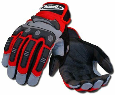 Ansell 97975l Projex Heavy Duty Impact Work Gloves Large