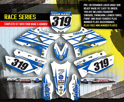 2002-2014 YAMAHA YZ 125-250 Restyle UFO Dirt Bike Motocross Graphics kit  Decals, used for sale  Snellville