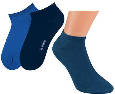 3-15 Paar Sneaker Socken für Damen und Herren sehr gute Qualität mir Komfortrand