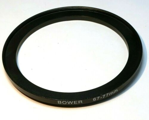 67mm to 77mm filter  ring Metal adapter threaded step-up wide angle