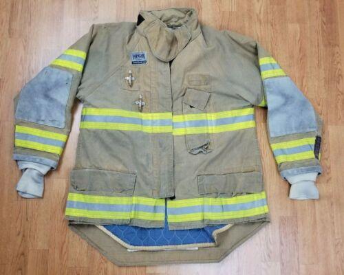 Morning Pride Ranger Firefighter Bunker Turnout Jacket w/ DRD 46 x 35