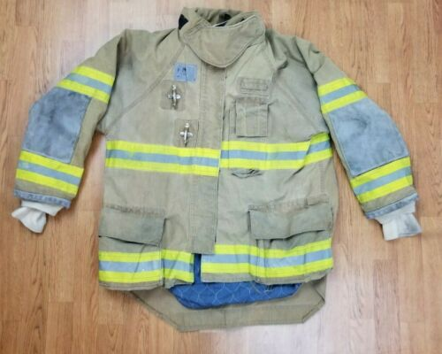 Morning Pride Ranger Firefighter Bunker Turnout Jacket w/ DRD 46 x 33