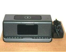 Genuine iHome iBN350 Alarm Clock Bluetooth Stereo Wireless Charging Speaker