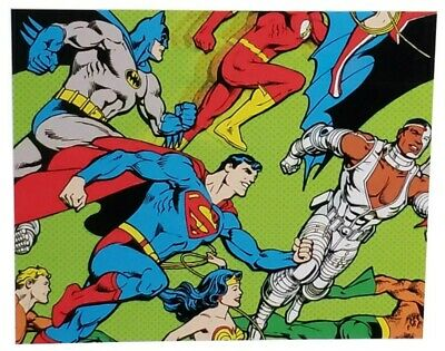 Hallmark DC Comics Justice League Xmas Wrap Christmas Wrapping Paper Holiday  Holiday Gift Wrap