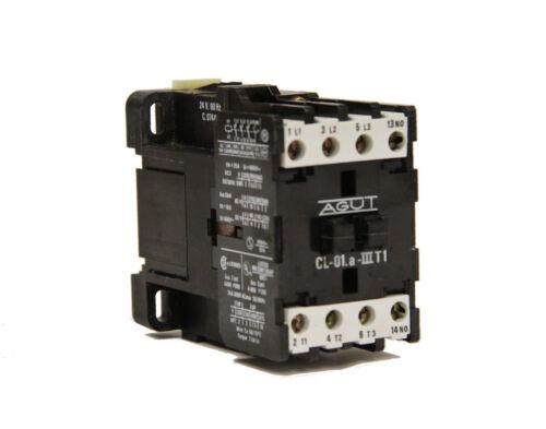 Joslyn Clark AGUT CL-01.a-IIIT1 Contactor 24V 60Hz Coil C.07449