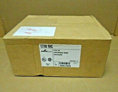 1 Nib Cooper B-line 12106 Rhc Jic Box Enclosure Nema 3r 12 X 10 X 6 3 Avail