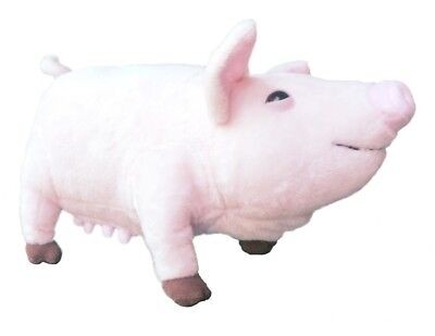 """ADORE 15"""" Standing Shirley the Pig Stuffed Animal Plush Toy"""