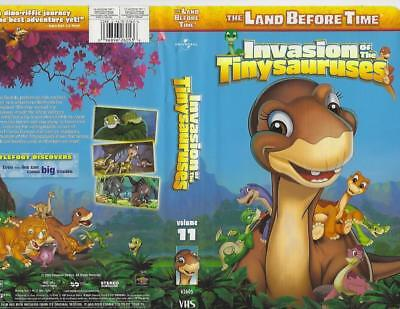 Dinosaurs The Land Before Time Invasion of the Tinysauruses Volume 11 VHS (The Land Before Time Invasion Of The Tinysauruses)