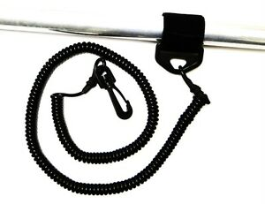 Coiled-Paddle-Leash-or-Fishing-Pole-Leash-for-Kayaks-or-Canoes-Solid-Rubber