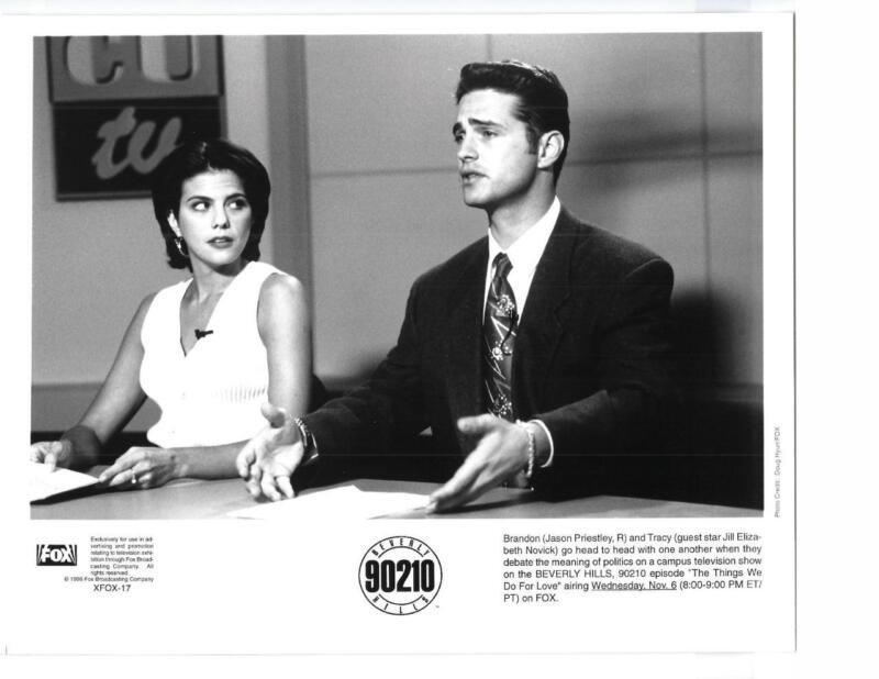 """Jason Priestley Jill Novick """"Beverly Hills 90210"""" TV Still"""