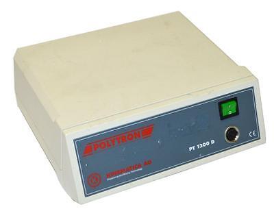 Kinematica Polytron Pt1300d Homogenizer Control Unit With Mixer