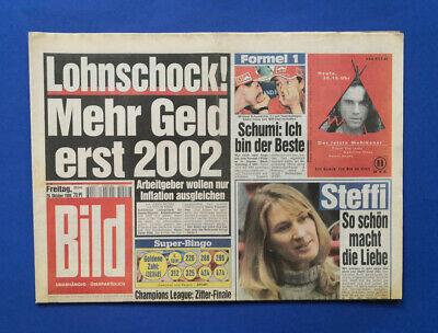 Bild Zeitung -    29. 10. 1999 - Laetitia Casta * Giovane Elber * Michael (Michael Casta)