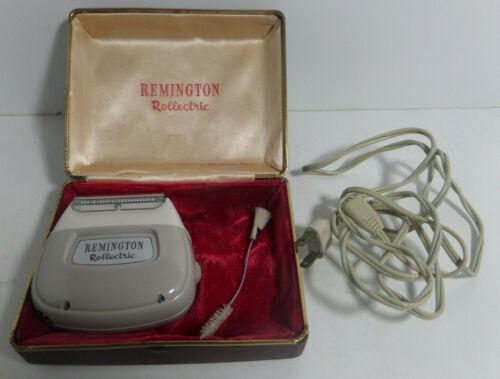 Remmington rollectric electric shaver vintage