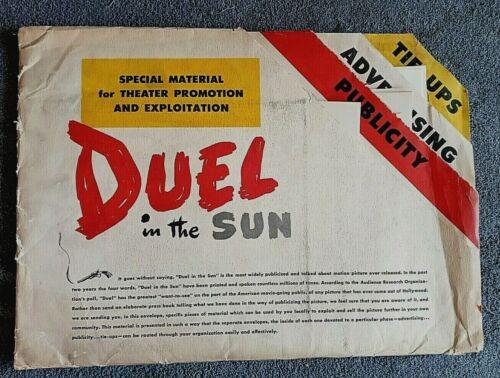 Duel in the Sun pressbook GREGORY PECK David O. Selznick JENNIFER JONES 1946