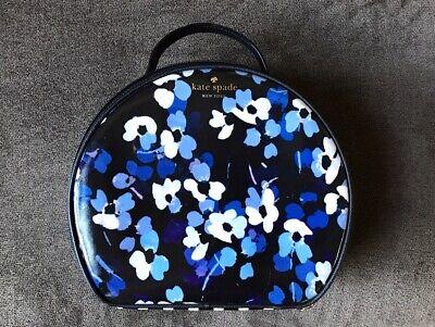 Rare Kate Spade Cedar Street Floral MIRI Cosmetic Train Case Bag Tote Travel EUC