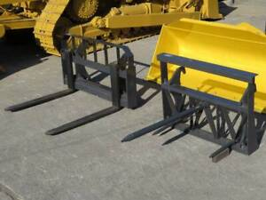 Bale Spear   2Ton Pallet fork attachments for KOMATSU WA100 Darra Brisbane South West Preview