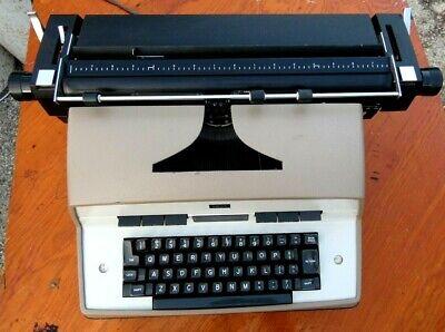 Vintage 1970s Ibm Model 12 Electric Typewriter Working