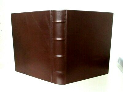 Graphic Image Leather Medium Photo Album 3 Ring Binder Clear Pockets holds 4x6  Medium Photo Album