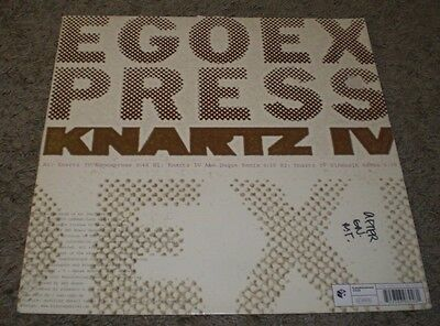 (Knartz IV Egoexpress~2005 German Import Minimal Tech House 12