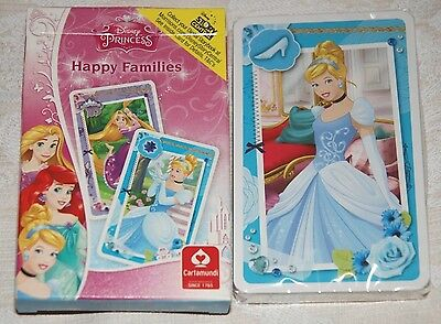 Disney Princess Happy Families Card Game for children - sealed pack