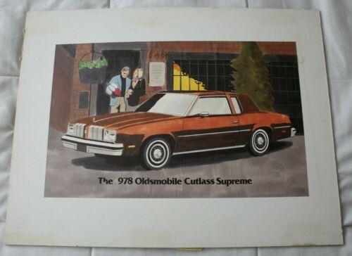 Mid Century Modern Original Illustration Art 1970