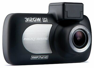 Nextbase 312GW 1080p Full HD GPS G-Force Sensor Night Vision WiFi Dash Cam