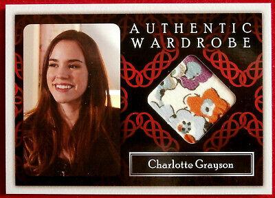 REVENGE - CHRISTA B ALLEN / Charlotte Grayson - COSTUME CARD M6 CRYPTOZOIC 2013