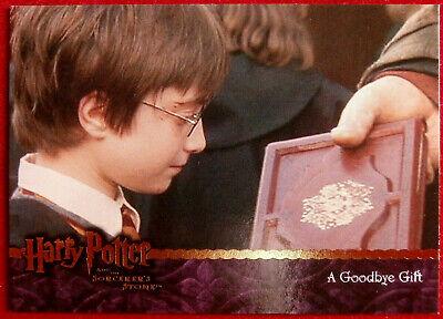 HARRY POTTER - SORCERER'S STONE - Card #088 - A GOODBYE GIFT - Artbox 2005