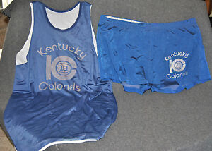 Cincy Powell Kentucky Colonels Game Worn Practice Uniform ABA 1970-1972