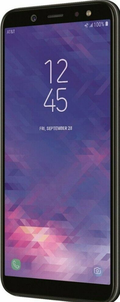 "Android Phone - Factory Unlocked Samsung Galaxy A6 SM-A600 32GB - Black 5.6"" HD+ 16.0MP USED"