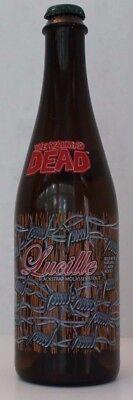 The Walking Dead Lucille Blackstrap Molasses Stout Terrapin Beer Empty Bottle