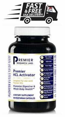 Premier HCL Activator 90 Caps - 90 caps FREE USA (Hcl 90 Capsules)