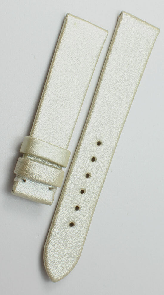 16mm Original Glashütte Watch Band für Faltschließe Uhrenarmband Kalbsleder