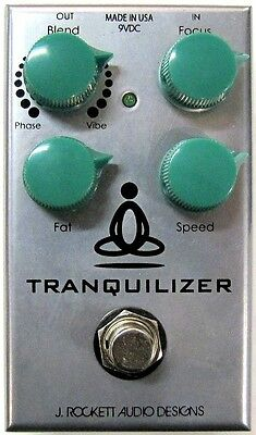 Used J. Rockett Audio Designs Tranquilizer Guitar Effects Pedal!