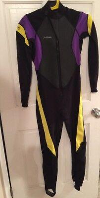 XCel 1.5 Xpedition 1.0 Tri-Density .5 Woman's Size 8T Wet Suit W Dura (Womens Tri Wetsuits)