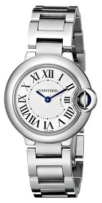 Cartier Women's Ballon Bleu Swiss Quartz Stainless Steel Watch W69010Z4