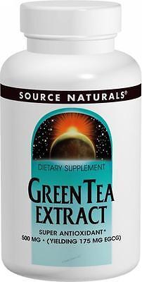 - Green Tea Ext, 30-33mg EGCG 100mg, 30 ct, Source Naturals