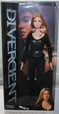 BARBIE DIVERGENT  TRIS NEW  read padded polybag shipping this price only