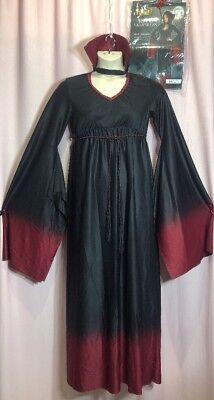 Halloween Costume~Spirit Blood Vampiress~Medium/Large 10/11/12/13/14 Vampire - 11-12 Halloween Costumes