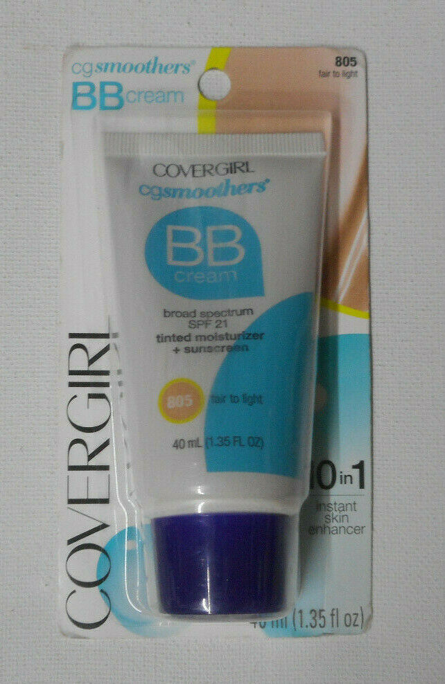 COVERGIRL Smoothers Lightweight BB Cream, Fair to Light 805,