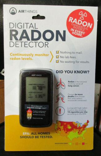 AIR THINGS Digital RADON Detector NEW  Sealed