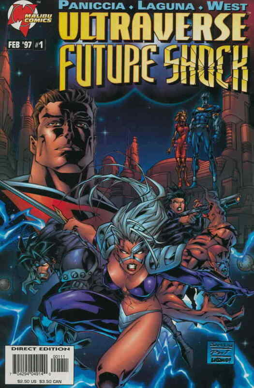 Ultraverse: Future Shock #1 VF; Malibu   save on shipping - details inside